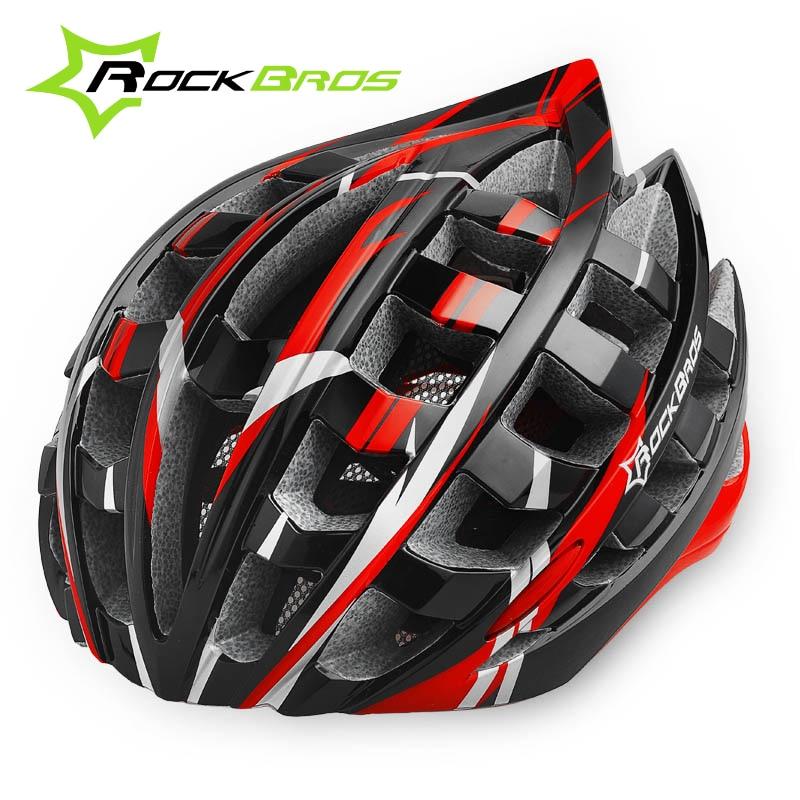 RockBros Road Bike Helmet Men Bicycle Helmets Mtb Cycling Riding Helmet EPS Head Protector for Men