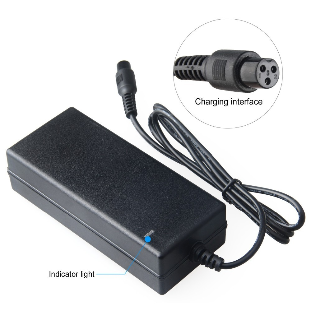 42V 2A Ac Power Adapter For Two Wheels Smart Self Balancing Unicycle Scooters 100V-240V Battery Charger