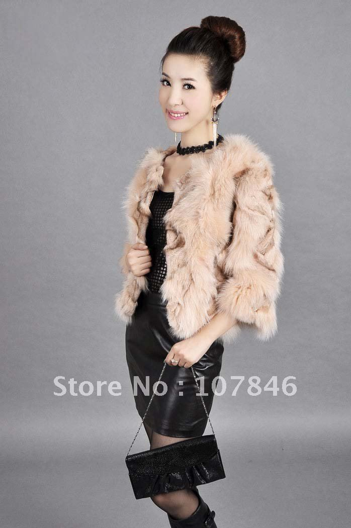 Aliexpress.com : Buy VK0003 Lady Fashion Genuine Leg Fox Fur ...