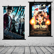 Scroll Painting Harry Potter Poster Diagon Alley kraft paper Wall art painting movie Posters home decor wall sticker
