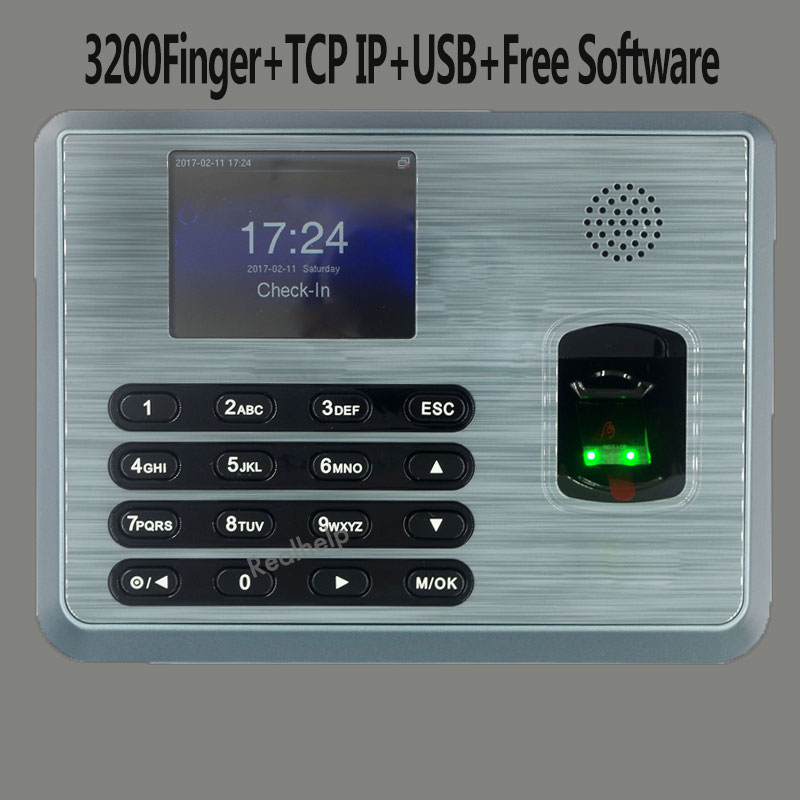 ZKTeco TX628 USBRS232/485 Fingerprint Time Attendance Attendance Time Clock Employee Biometric Attendance Machine(China)