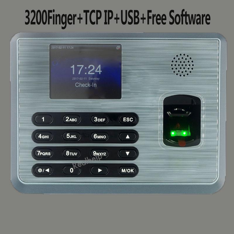 ZKTeco TX628 USBRS232/485 Fingerprint Time Attendance Attendance Time Clock Employee Biometric Attendance Machine