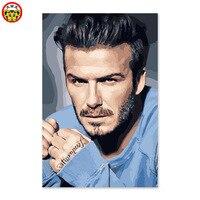 DIY Digitale Malerei, David Beckham, fußballer, mittelfeldspieler, Wm Silber Ball, BBC Lebensdauer Leistung Award.