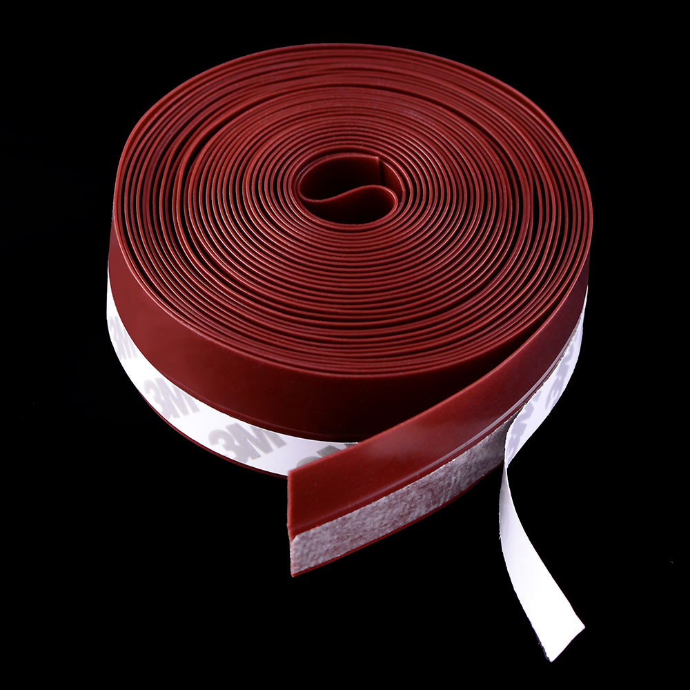 5Meters/Lot Self Adhesive Door Seal Strip Soundproofing Window Seal Rubber Dust And Insect Proof  Weatherstrip Waterproof Foam