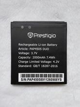 Prestigio PAP4505 DUO 4505 Battery 2000mah Bateria Accumulator ACCU