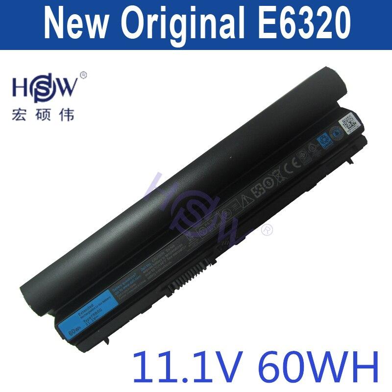 HSW original battery 11.1V 58WH For DeLL Latitude E6120 E6220 E6230 E6320 E6330 E6434s bateria akku