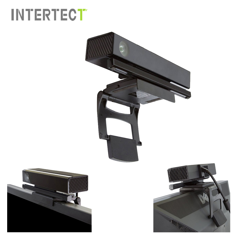 Online get cheap black xbox kinect aliexpress alibaba group high quality black sensor tv clip stand holder for xbox one console kinect 20china sciox Gallery