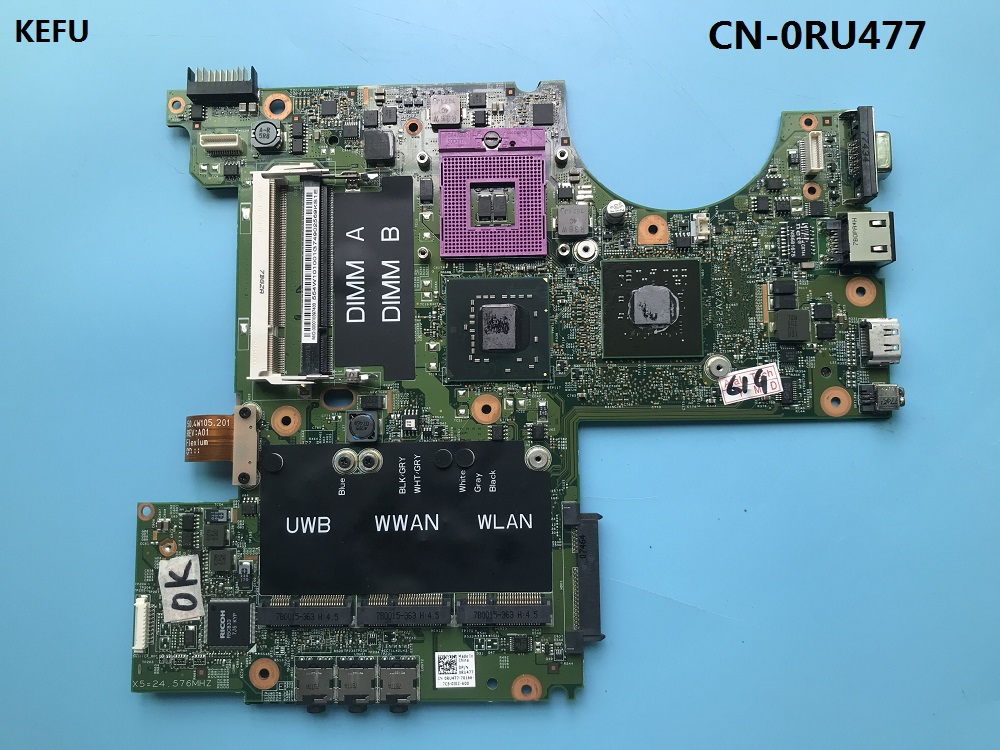 KEFU CN 0RU477 FIT For DELL XPS M1530 Laptop Motherboard 0RU477 RU477 PM965 G84 601 A2