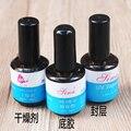 New Nail Gel 3PCS/SET TOP Coat+Primer+Desccant For UV Nail Acrylic Art Nail Polish Tool Free Shipping