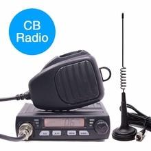 Abxie Transmisor walkie talkie AR 925 HF, radio Móvil para coche, conjunto de radio cb de 27MHZ, mini walkie talkie ham station, CB 40M de intercomunicación