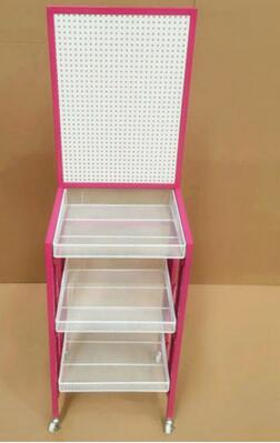 Hole Hole Plate Shelves. High-quality Goods Display Shelf. Mobile Phone Accessories Exhibition Stand. Cosmetic Iron