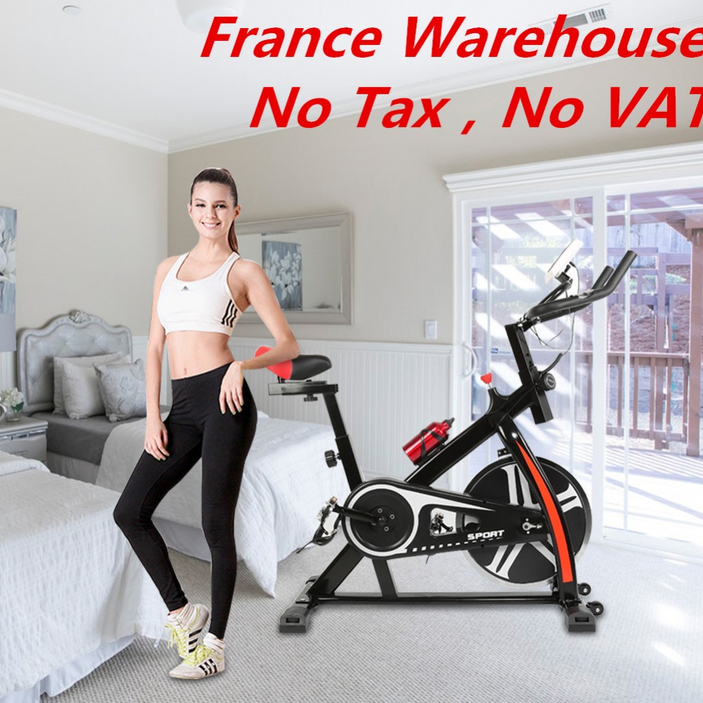 Household Bike Training Exerciser Bicycle Mute Magnetic Stationary Exercise Bike Indoor Fitness Cycling Equipment Bicycle HWC healthy soho office spinning bicycle super mute household magnetic bike with table back pedal fitness equipment dynamic bike
