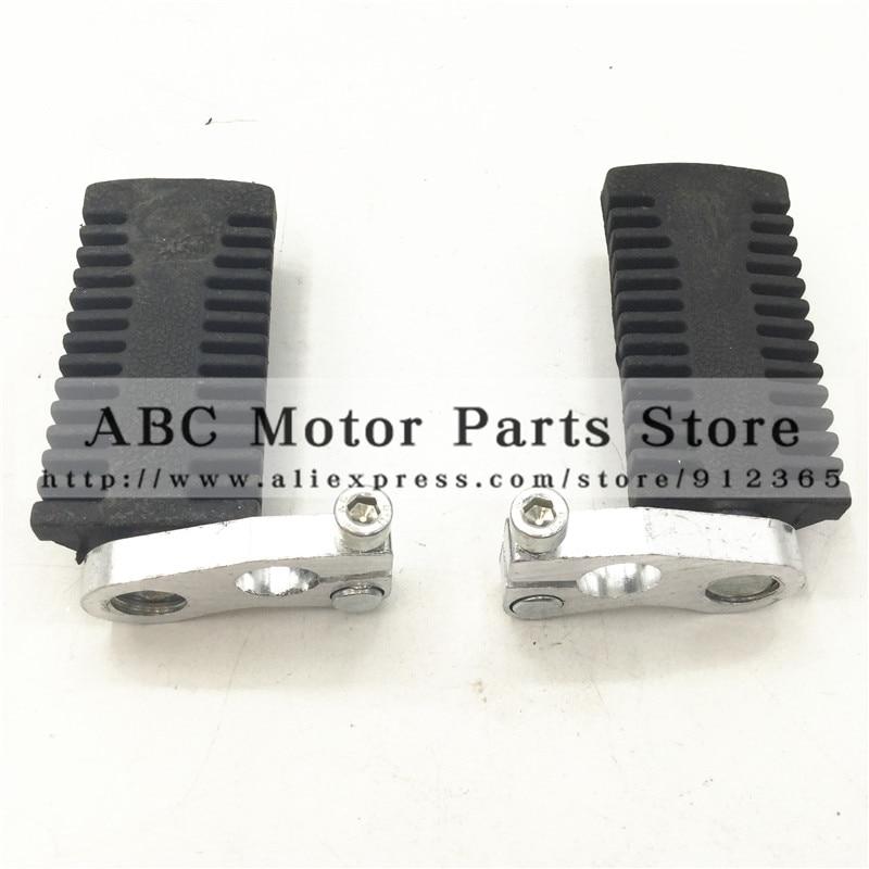 47cc 49cc Mini Pocket Bike foot pegs 2 stoke engine bike spare parts platfoam