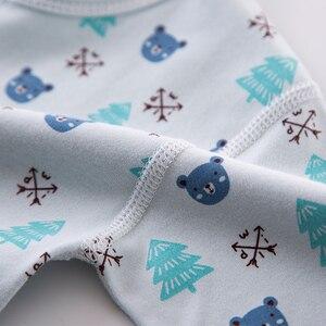 Image 5 - Cartoon noworodka ubrania zestaw prezentowy dla dziecka bawełna noworodki dziewczynka chłopiec ubrania dla niemowląt odzież ubranko dla dziecka noworodka zestaw bez pudełka