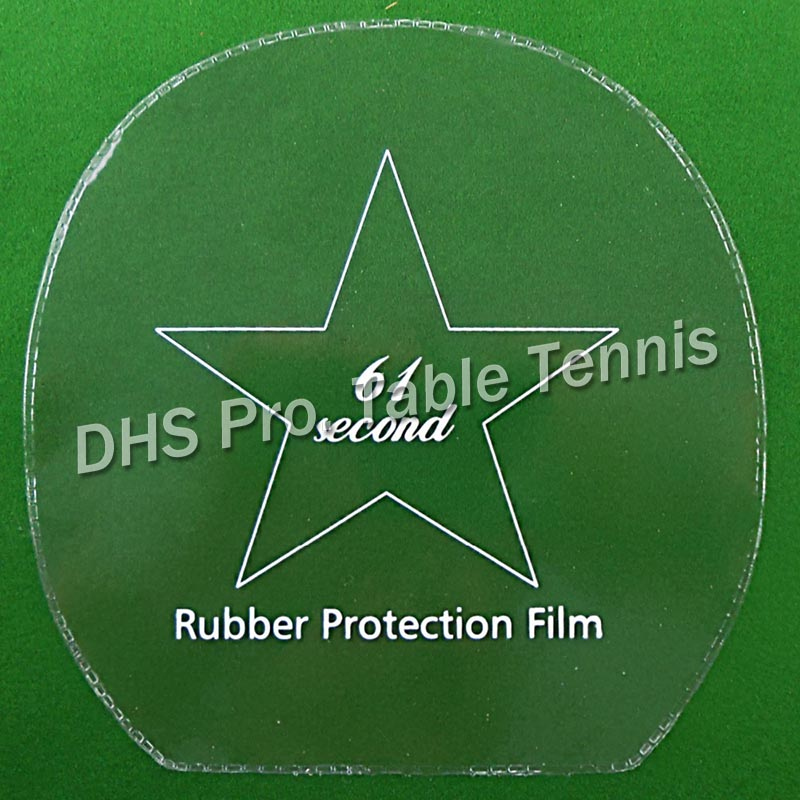 12x 61second Table Tennis Rubber Protection Film For PingPong Racket