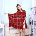 Warm Scarf Imitation Cashmere Shawls Long Cloak Towel Male Female Autumn Winter Scarves Cachecol Bandanas Hijab Foulard Echarpe
