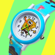 цена на Cartoon Printed Strap Boys watch for Children kids Watches sports Quartz Wristwatches Child Watch for Girls Students Clock Gift