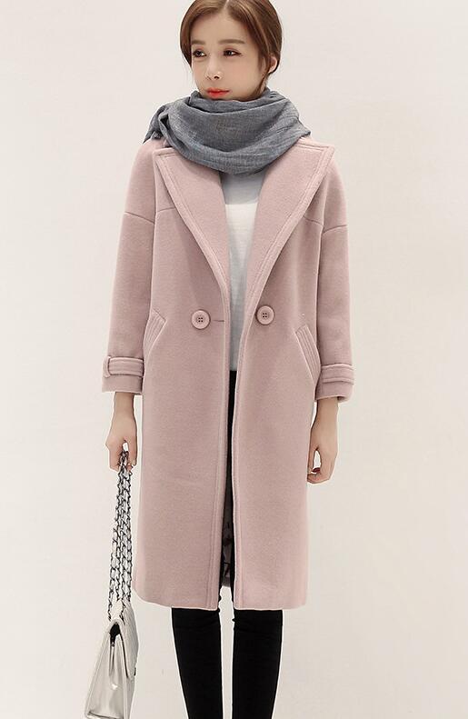 Offre spéciale femme laine manteau haute qualité hiver veste femmes Slim laine Long cachemire manteaux Cardigan vestes élégant mélange
