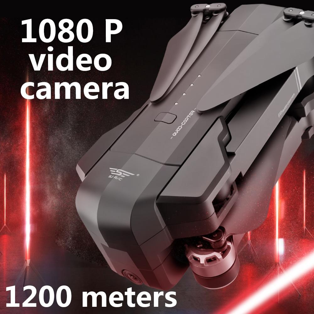 OTPRO mi Drone WIFI FPV con 4K 30fps 1080P cámara de 3 ejes cardán GPS RC Drone quadcopter RTF con la Trans mi tter Z5 F11 DRON-in Helicópteros RC from Juguetes y pasatiempos    3