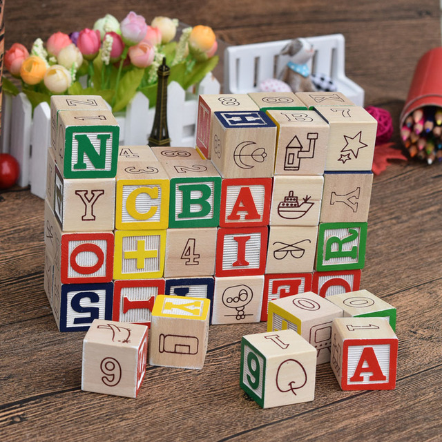 educational word learning domino 50pcs constant learning wooden letter block toy kids alphanumeric wood building