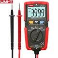 Карманный UT125C карманный цифровой мультиметр резисторный конденсатор Частота Диод тест НТС низковольтный дисплей оригинальный мультиметр