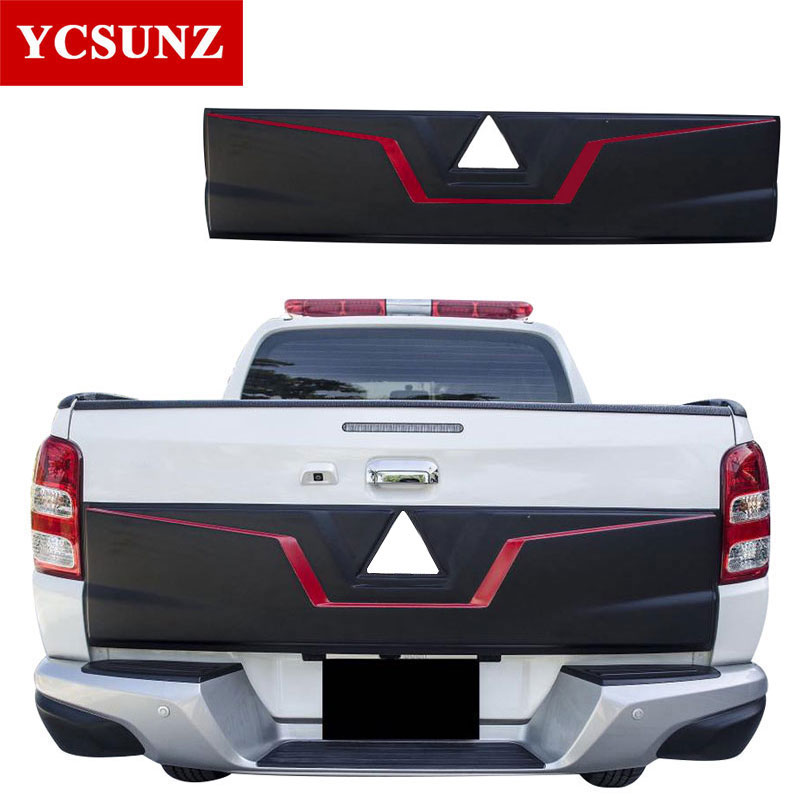 2016-2018 Rear Tailgate for Mitsubishi l200 Triton 2017 Tailgate Outer Lid Cover Accessories For Mitsubishi L200 2018 Ycsunz for mitsubishi l200 kb t ka