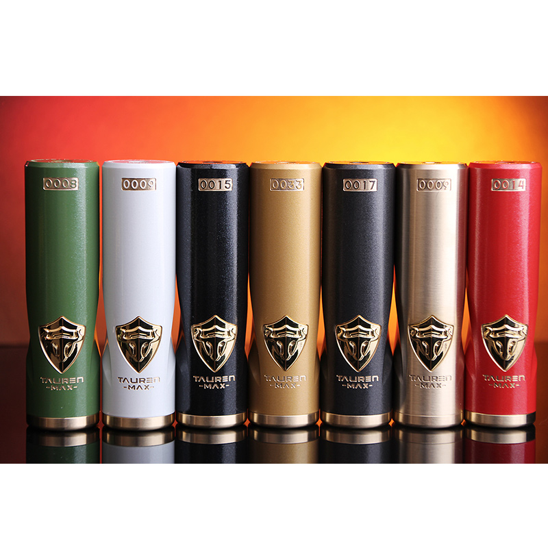 Original THC Tauren Max Mech MOD 510 Hybrid Connection With Lockable Ball Fire Key E-cig Vape Mod Sxk Taifun Gtr Rta Tauren Mod