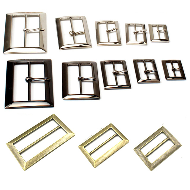 01654cb33ee234 10 pz lotto 25mm 30mm 40mm 50mm Oro argento Quadrato In Metallo ...