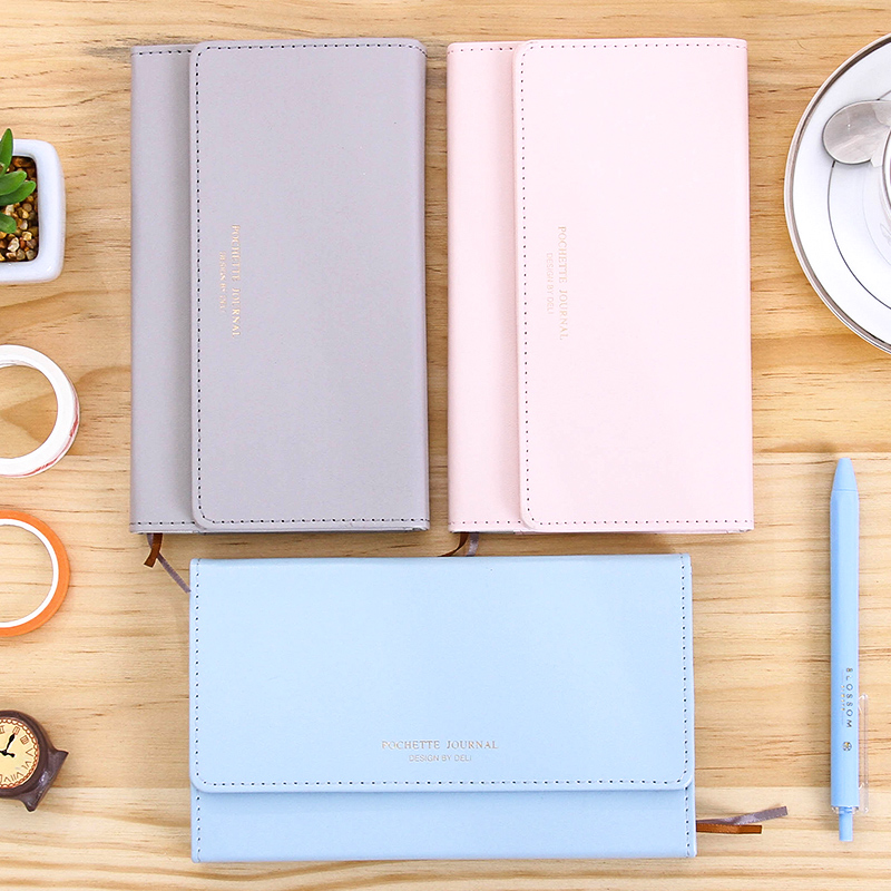 Cute A6 notepad Logo custom PU leather sketchbook writing pads school office supplies traveler jourbal mini student notebook