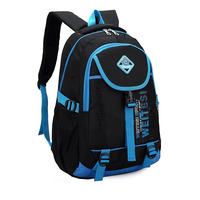 Korean Men And Women Shoulder Bag Backpack Schoolbag Tide Models College Wind Middle School Sports Bag