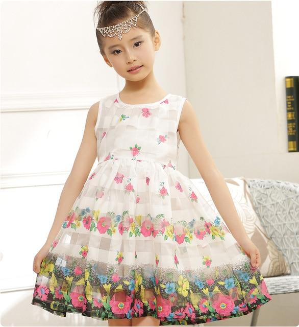 04987c342da72 US $21.71 |KNB Lolita Girls Summer Floral Dress Summer Baby Girl Casual  Dresses Mesh Brand New Princess Girl Party Dress with Zipper EDS046-in  Dresses ...