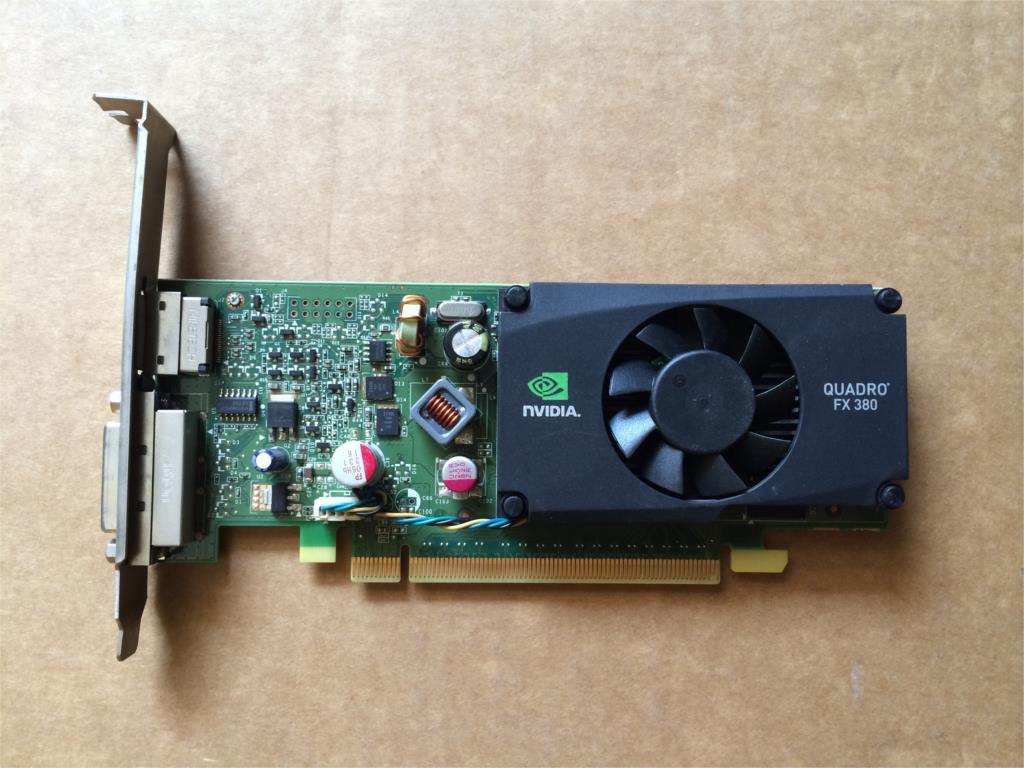 Original Leadtek Medical Card Quadro FX380LP 512M DDR3 Professional Graphics Graphics