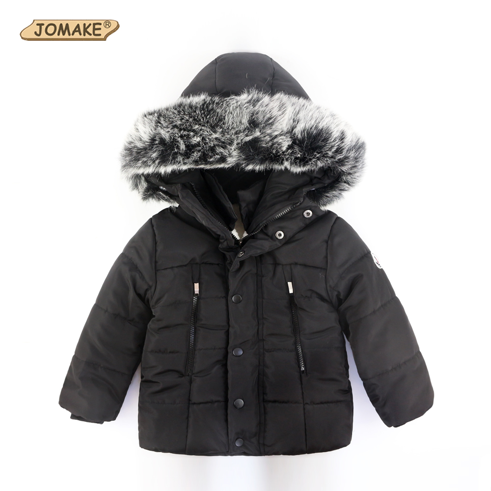 Winter Jackets For Girls Boys Warm Coat Kids Clothes Snowsuit Outerwear Children Clothing Baby Fur Hooded Jacket Infant Parkas 2016 winter boys ski suit set children s snowsuit for baby girl snow overalls ntural fur down jackets trousers clothing sets