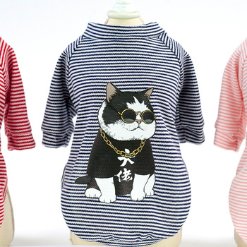Pet clothing dog clothing dog T-shirt dog clothing spring/summer new cool T-shirt