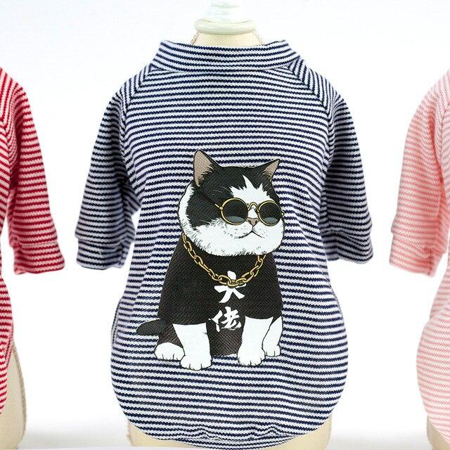 Pet clothing dog clothing dog T-shirt dog clothing spring/summer new cool T-shirt