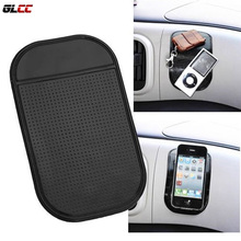 HOT SALE Powerful Silica Gel Magic Sticky Pad Anti Slip Non Slip Mat for Phone Car Accessories Black Color
