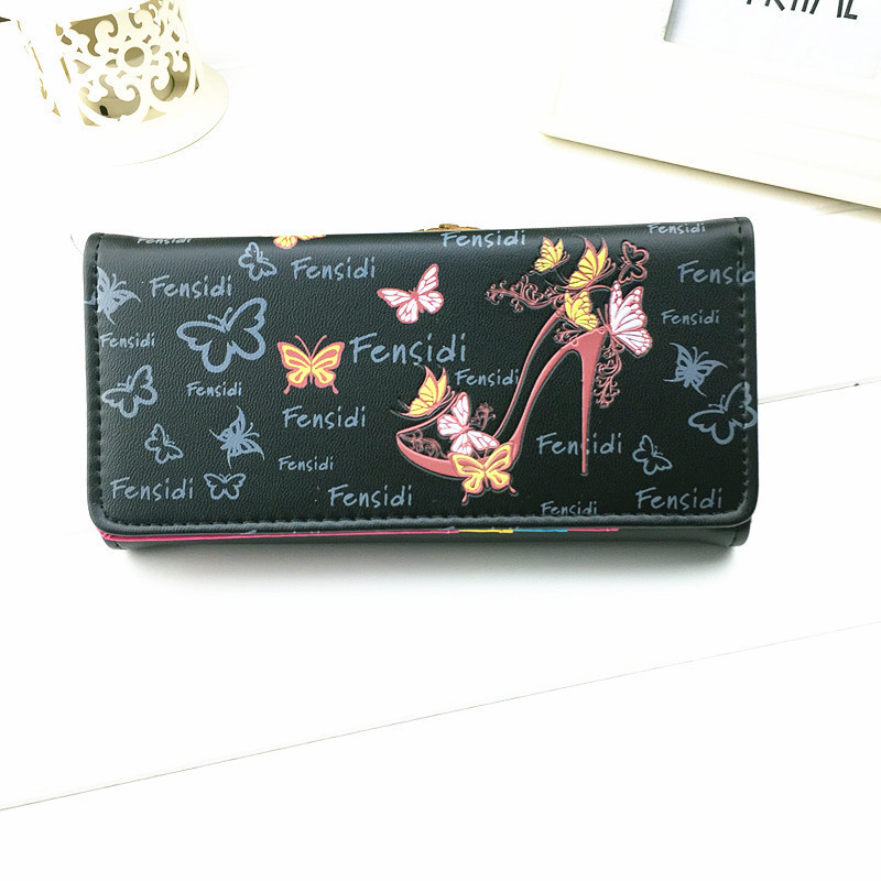 Kagome Fashion Wallet Women Luxury Female Carteira Feminina Wallets Ladies PU Leather Zipper Purse Card Holders Clutch Money Bag 2017 new brand pu leather women long wallets solid clutch coin purse dollar price card holders vintage carteira feminina a1656
