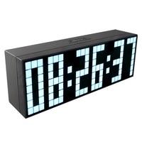 CH KOSDA Grote LED Wekker Show Countdown Timer Temperatuur Datum Kalender 6 Groepen Alarmen Digitale Klok Fashion Home Decor