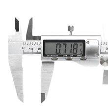 JIGUOOR Digital 0-300mm 0.01mm Caliper Stainless Steel Electronic Vernier Caliper Metric/Inch Measuring Tool