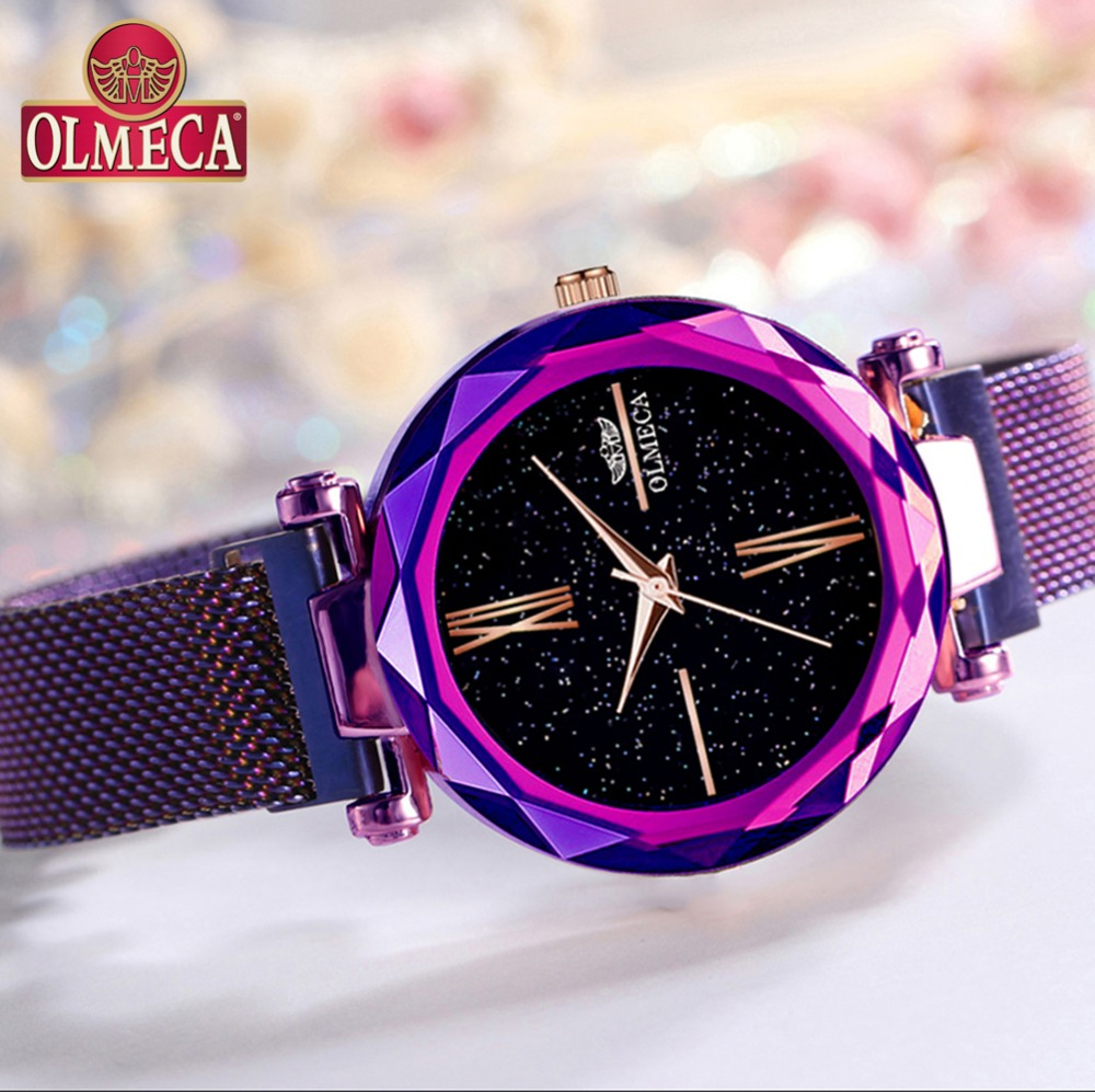 Hot Selling Clock Relogio Feminino Top Brand Luxury Watches OLMECA Women Watch Waterproof Wrist Watch Reloj