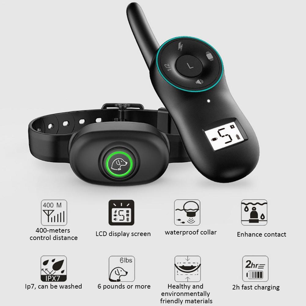 Dispositif de formation de chien de haute qualité Film à ultrasons fournitures de formation de chien chien formateur collier de chien chiot Pet dispositif de jeu en gros