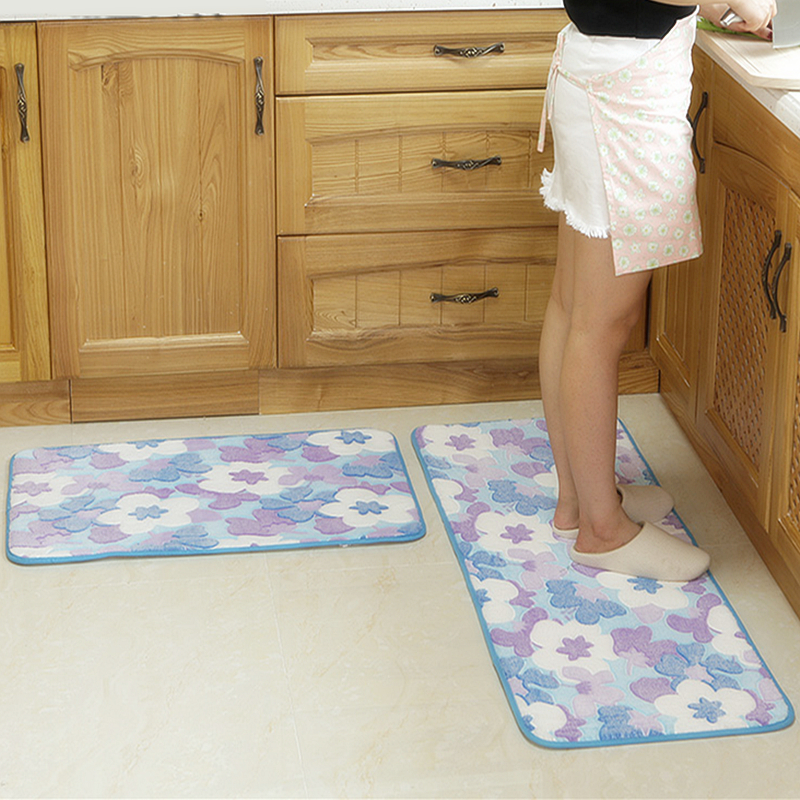 modern kitchen door mat antislip floor mat pad bedroom hallway balcony bathroom carpet doormat - Bathroom Carpet
