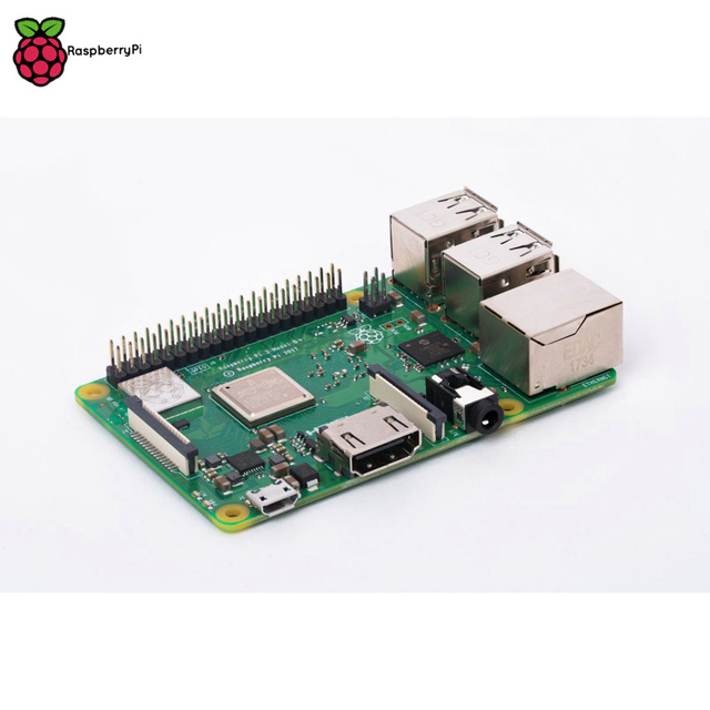 Original Raspberry Pi 3 Modell B + RPI 3 B plus mit 1 GB BCM2837B0 1,4 GHz ARM Cortex A53 Unterstützung wiFi 2,4 GHz und Bluetooth 4,2