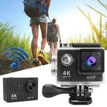Высокое Качество ЭКЕН H9 2.0 ЖК 4 К Ultra HD 1080 P Wi-Fi спорт Действий Камеры DV Автомобильный ВИДЕОРЕГИСТРАТОР SPCA6350 Водонепроницаемый Спорт Камеры FPV камера