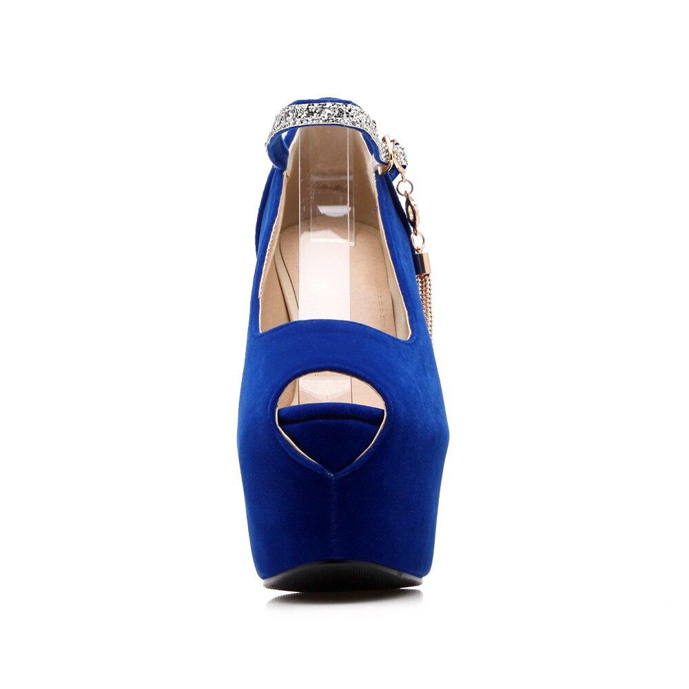 Bout 2017 Haute Noce rouge De Femmes Peep Rouge Femme bleu Pompes forme Danse Talons D'été Bleu Noir Chaussures Plate Nemaone Noir Mode FUqEvq
