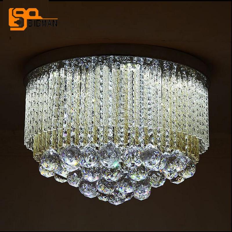 luxury design crystal ceiling lamp modern LED ceiling light AC110V  220V lustre kid room LED living room lights