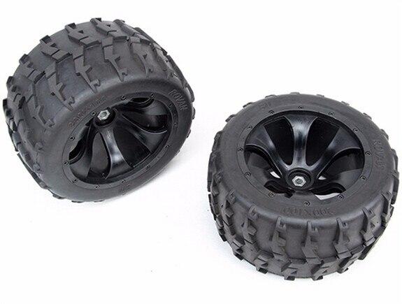 Roue et pneus II 200mm x 100mm pour 1/5 échelle FG Hummer BM big monster truck rc voiture pièces