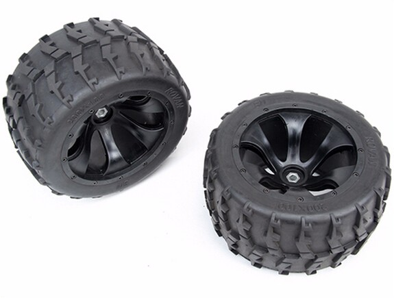 цена на wheel and tyres II 200mm x 100mm for 1/5 scale FG Hummer BM big monster truck rc car parts
