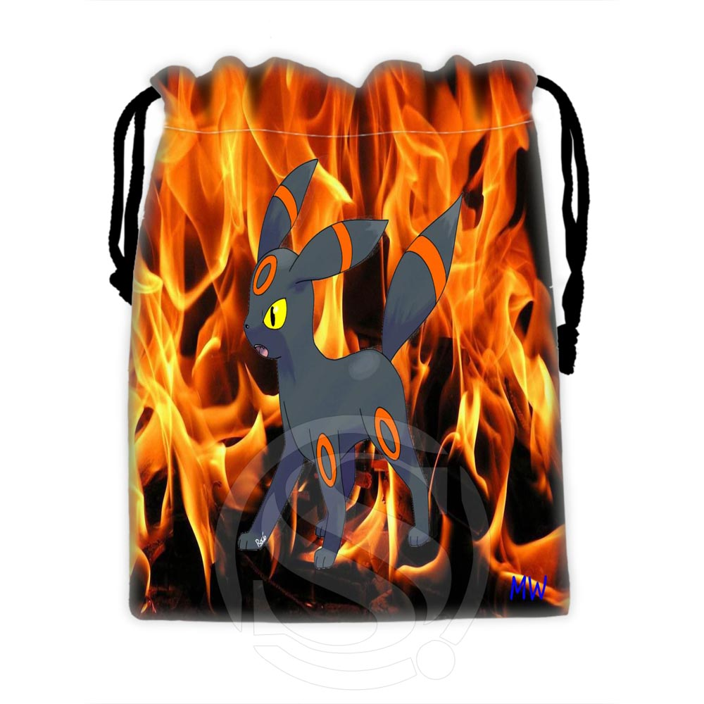 H-P599 Custom Eevee #37 Drawstring Bags For Mobile Phone Tablet PC Packaging Gift Bags18X22cm SQ00729-@H0599