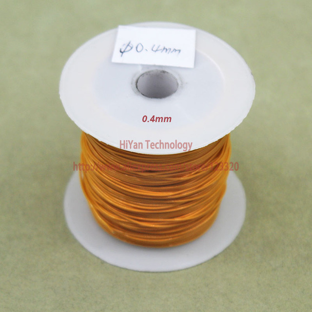 20meters/lot) Triple Insulated Copper Wire Bare Copper Diameter 0.4 ...